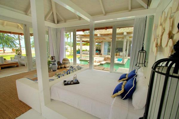 Contemporary Thailand Villa modern bedroom