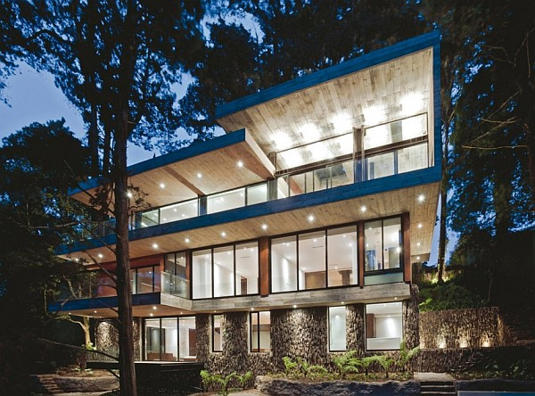 Corallo House by Paz Arquitectura contemporary exterior Corallo House in Guatemala City is an Ultimate Charmer