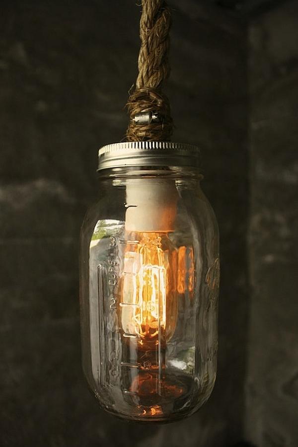 DIY Luke Lamps rustic