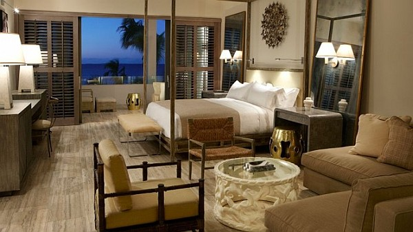 Dapper West Indian Viceroy Villas contemporary bedroom West Indian Viceroy Villas in Antigua Spell Luxury