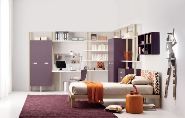 Decorate-Your-Kids-Rooms-with-beige-and-purple