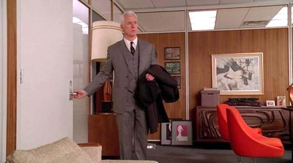 Mid century modern design ideas inspired by mad men for 60s office design