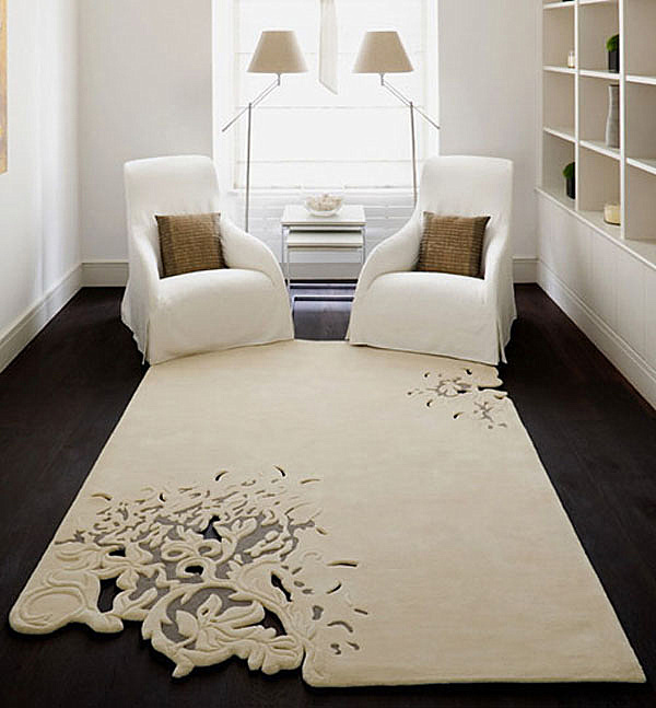 nice surprise especially in a neutral space from top floor rugs