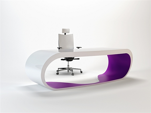 Goggle Office Desks purple