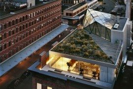 Penthouse With Garden for Diane Von Furstenberg Sports Awesomeness