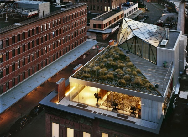Green Roofed Penthouse Apartment 1 Penthouse With Garden for Diane Von Furstenberg Sports Awesomeness