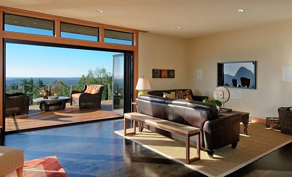 Harrison Street Residence contemporary living room