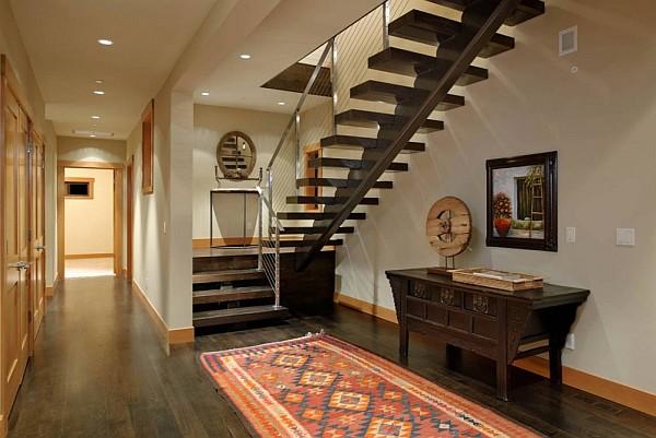 Harrison Street Residence interior staircase design idea