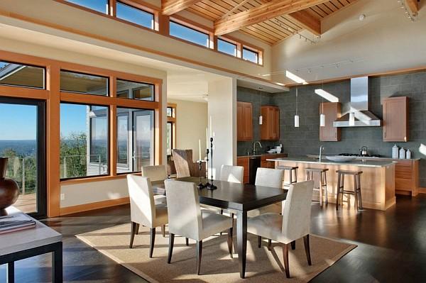 Harrison Street Residence modern living room