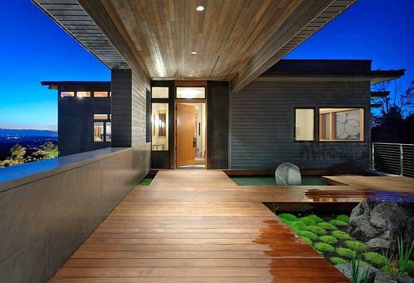 Harrison Street Residence modern wooden deck Contemporary Harrison Street Residence Proves Stylish & Economical