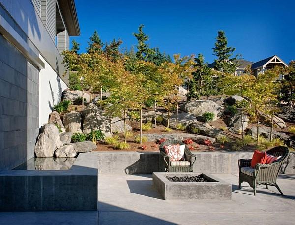 Harrison Street Residence outdoor furniture set