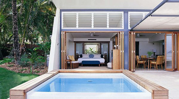 Hayman Island Resort, Apartment with private pool