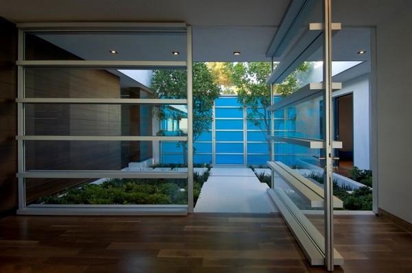 Hopen Place House interior garden