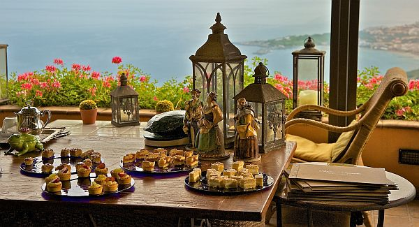 Hotel Villa Ducale views over sea