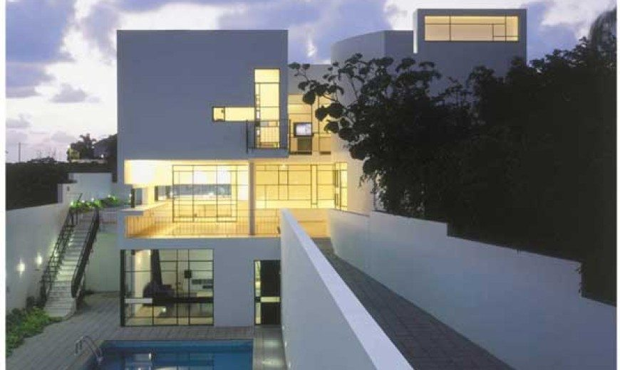 Modern Israeli House PS with Formal and Informal Entrances