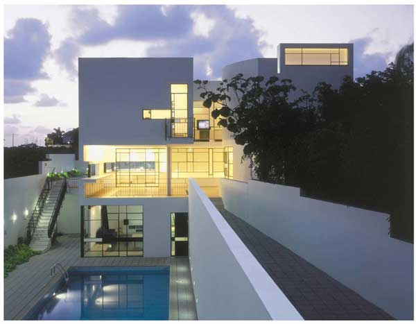 House PS TheHeder Partnership Modern Israeli House PS with Formal and Informal Entrances