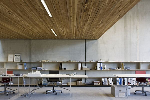 Innsbruck Atelier – Office Under the Garden 6