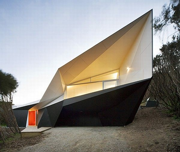 Klein Bottle House McBride Charles Ryan Impressive Holiday Home by McBride Charles Ryan