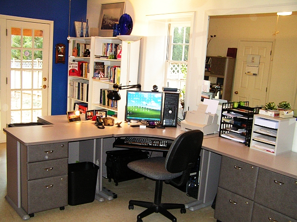 Sensational 20 Home Office Decorating Ideas For A Cozy Workplace Largest Home Design Picture Inspirations Pitcheantrous