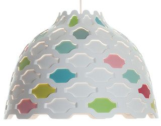Soft Light Pendant Lamp With Carefully Studied Details