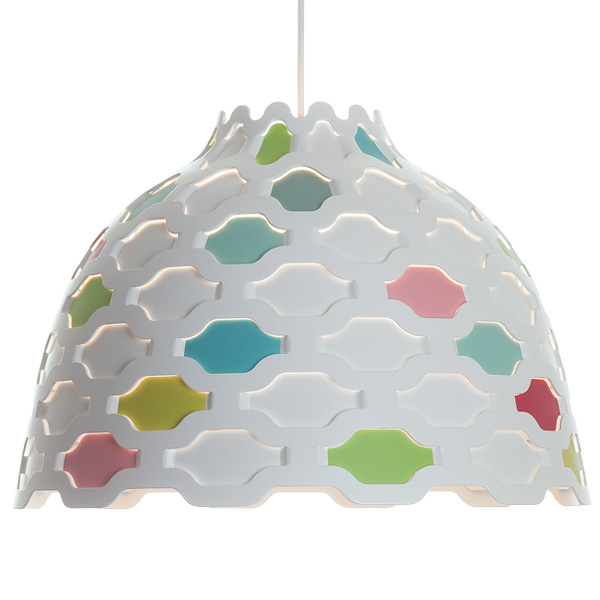 LC shutters pendant light by Louise Campbell 2 Soft Light Pendant Lamp With Carefully Studied Details
