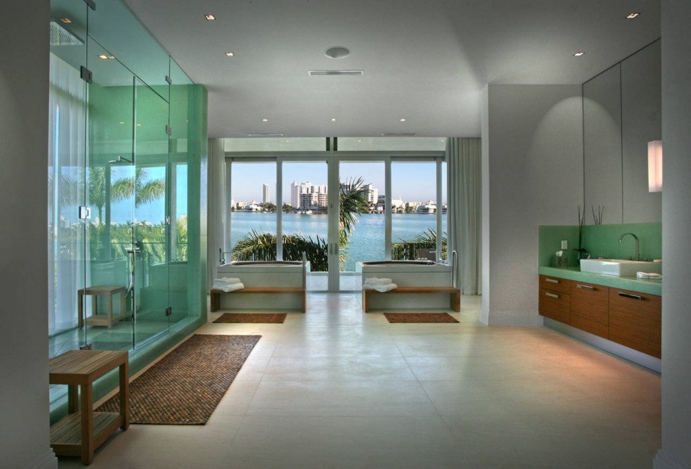 La Gorce Residence in Miami luxury bathroom decorations & furniture