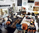 Living room styles - Mario Testino interior design 1