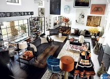 Living Room Style: Mario Testino's Spectacular Design