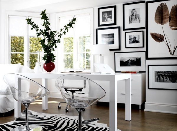View in galleryMaximize Your Space With Acrylic Furniture of See Through Office Chairs
