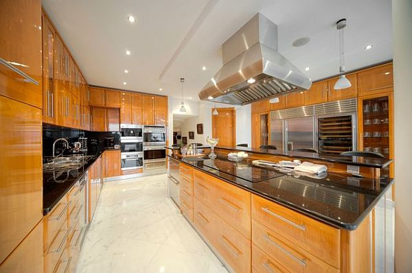 Luxury penthouse in malta new heights of extravaganza for Ultra modern kitchen designs luxury