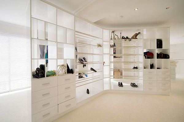 Luxury penthouse storage options drawers