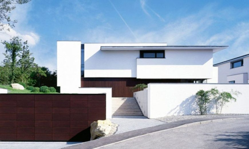 One Shared Facade, Two Modern Residences