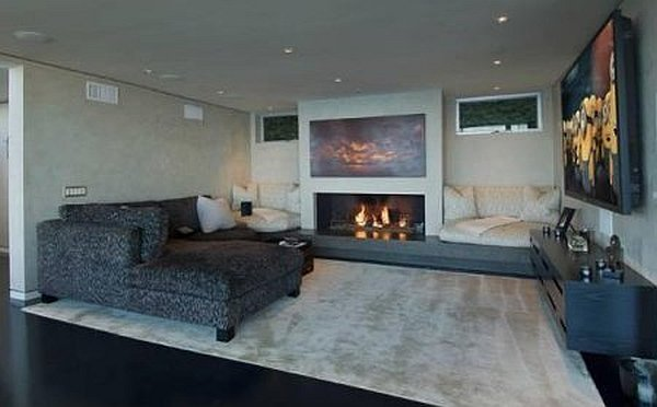 Malibu Contemporary Villa – relaxing room