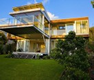 Marcus Beach House - glass steel exterior