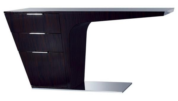 Mercer Ebony Lacquer Desk