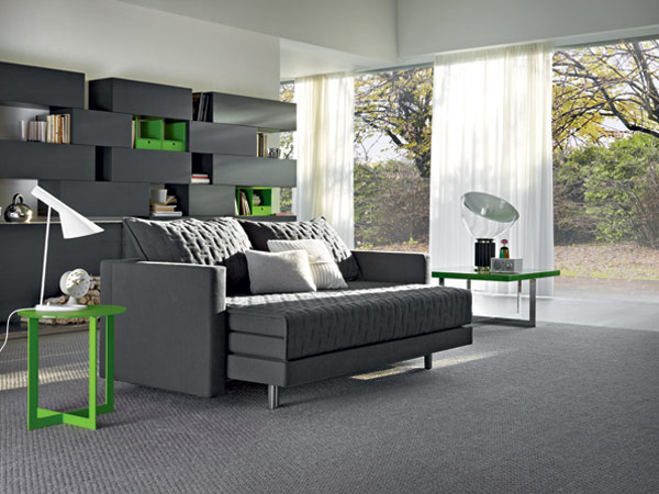 Modern Oz Sofa turns into Bed Oz Sofa Bed Combo Furniture Sports Two in One Design
