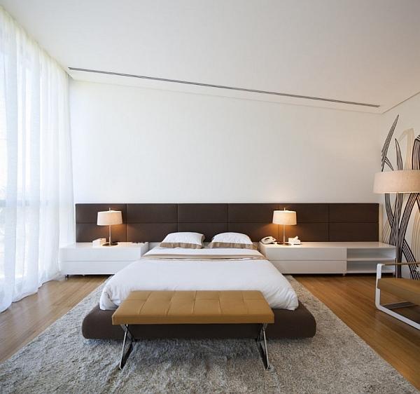 Mop House – contemporary bedroom design