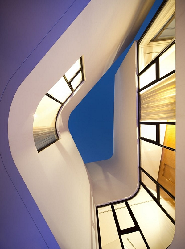 Mop House interior area Mop House in Kuwait Looks Marvelous Amidst Spectacular Greenery