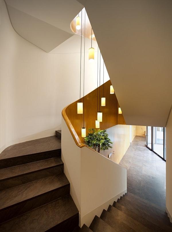 Mop House - interior staircase