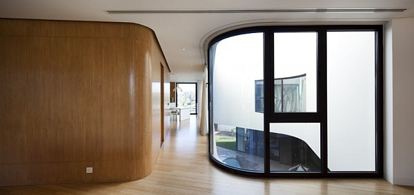 Mop House - rounded wooden walls