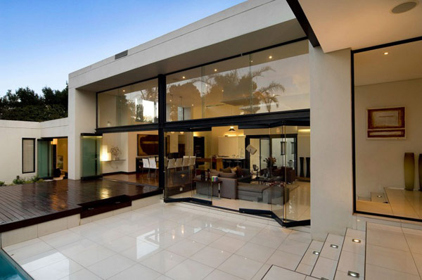 Moss-Oaklands-Residence-glossy-living-area-with-floor-to-ceiling-windows