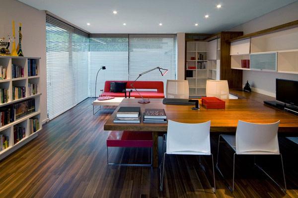 Moss-Oaklands-Residence-ultra-modern-home-office-desk