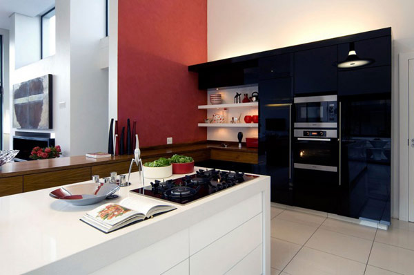 modern kitchen designs in south africa moss oaklands residence in south africa is redesigned 590