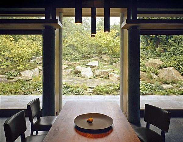 Northwest Family Retreat - dining room