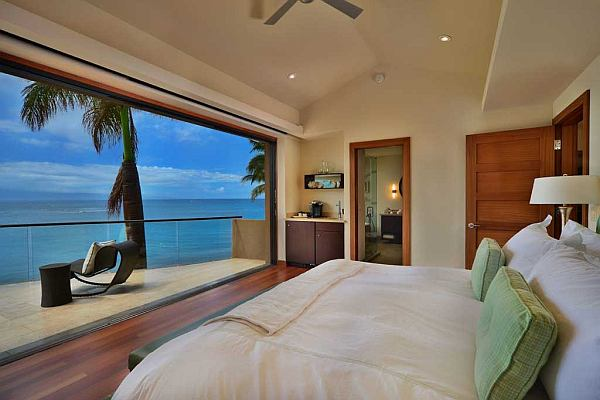 Ocean living – bedroom with stunning views