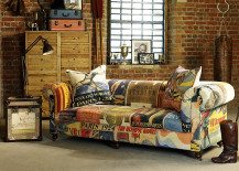 Vintage Olympic-inspired Living Room Furniture from Barker & Stonehouse