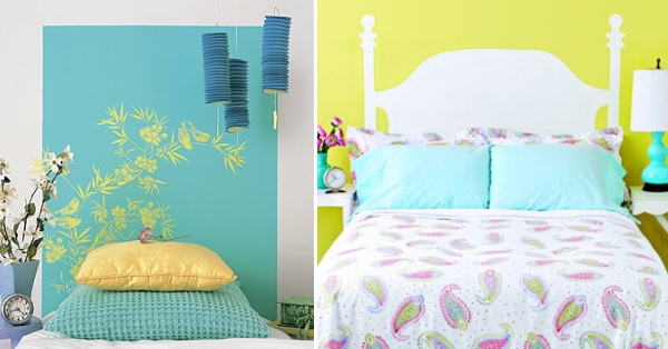 Painted Headboard Ideas Amusing 25 Gorgeous Diy Headboard Projects Decorating Design