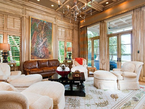 Mansion Living Room >> Luxury Palm Beach Mansion Selling For an Extravagant $38M