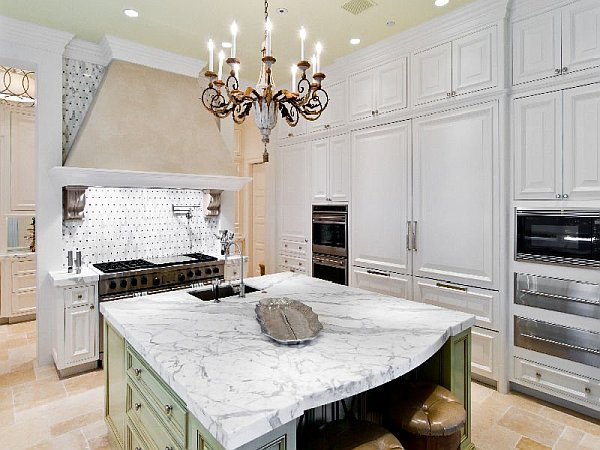 Palm Beach Mansion rustic classy kitchen design