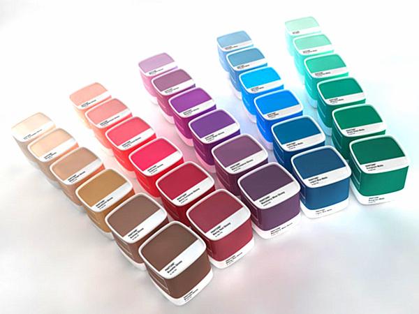 Pantone-Paint-Samples